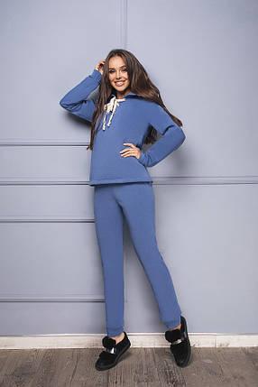 Женский утепленный спортивный костюм, фото 2