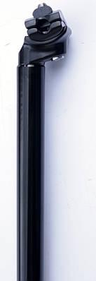 Велосипедний штир Kalloy алюмінієвий 31.6 мм, чорний