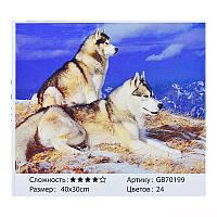 "Алмазна мозаїка ""Вовки"" GB 70199"