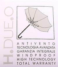 Жіночий напівавтомат зонт H. DUE. O модель 241-1., фото 3