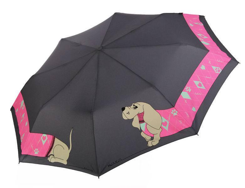 Женский зонт полуавтомат H. DUE. O модель 241-4.