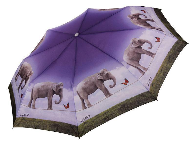 Женский зонт полуавтомат H. DUE. O модель 254-2.