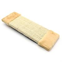 Когтеточка драпак для кота односторонняя ДС 45х15 см