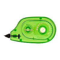 Корректор ленточный Axent 5 мм х 6 м с аппликатором зелёный