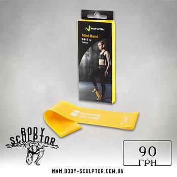 Еспандер для ніг Mini Bands Жовтий