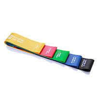 Еспандер для ніг Mini Bands Жовтий, фото 4
