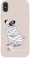 Чехол-накладка TOTO Pure TPU 2mm Print Case Apple iPhone X/XS #15 Dog Mumiya Stone #I/S