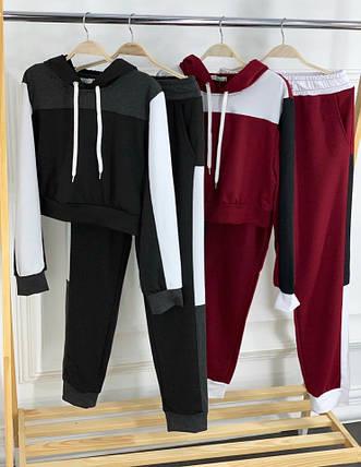 Спортивный костюм с короткой кофтой, фото 2