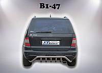 Acura MDX (06-13) защитная дуга защита заднего бампера на для Акура МДХ Acura MDX (06-13) d60х1,6мм