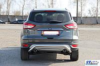 Chevrolet Niva (02-09) защитная дуга защита заднего бампера на для Шевроле Нива Chevrolet Niva (02-09) d60х1,6мм