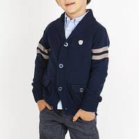 Детский кардиган для мальчика BRUMS Италия 133BFHC003 темно -синий