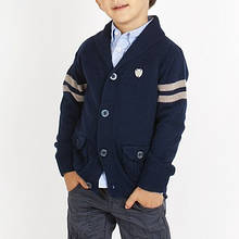 Детский кардиган для мальчика BRUMS Италия 133BFHC003 темно-синий