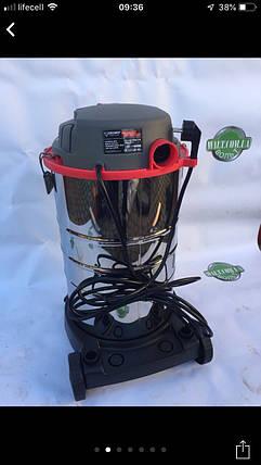 Пылесос промышленый для сухой и влажной уборки FORTE VC3018SAD 30л, фото 2