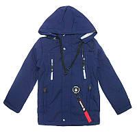 Куртка для мальчика 128-152  арт.515  с наушниками