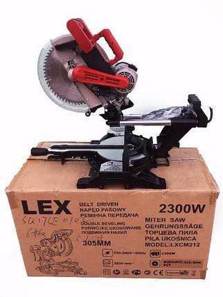 Пила торцовочная торцовка LEX LXCM212, фото 2