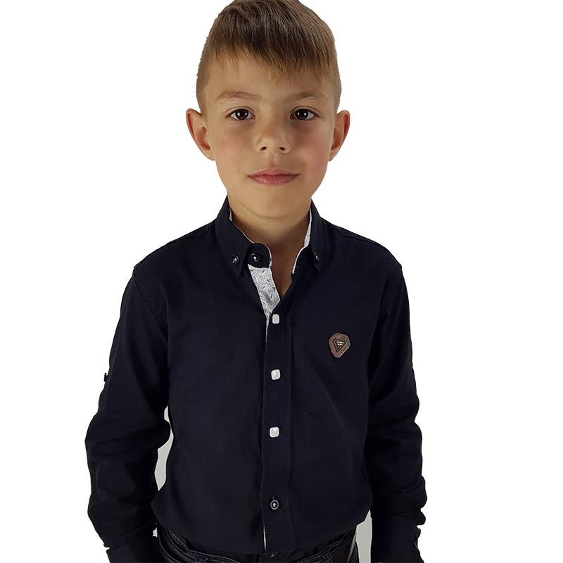 Сорочка для хлопчика 110-128 (5-8р.) арт.121723