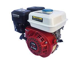 LEX двигатель внутреннего сгорания 6.5 HP 168F-2 двигатель внутренего сгорания