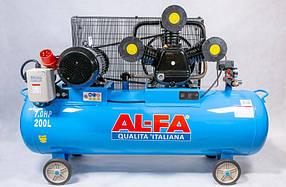 Компрессор AL-FA ALC200-3/400V (200 літрів)