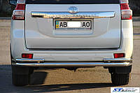 Mitsubishi Pajero Sport (08-15) защитная дуга защита заднего бампера на для Митсубиси паджеро Спорт Mitsubishi Pajero Sport (08-15) углы d60х1,6мм