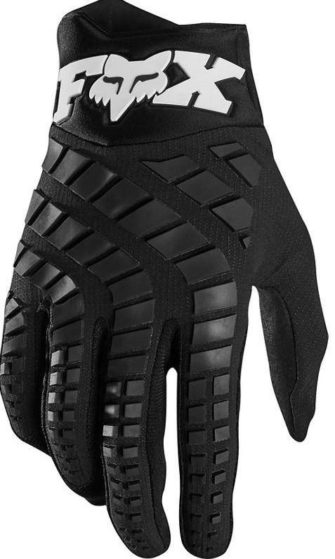 Мотоперчатки FOX 360 черно-белые, L (10)