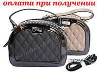 Женский кожаный клатч мини женская сумка кошелек шкіряна через плечо FANTACY, фото 1