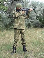 Костюм детский Киборг для мальчиков цвет камуфляж A-TACS копия военного костюма