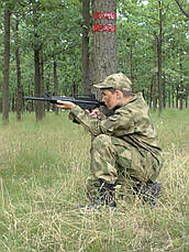 Костюм детский Киборг для мальчиков цвет камуфляж A-TACS копия военного костюма, фото 3