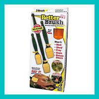 Набор кондитерских силиконовых кистей Better Brush!Лучший подарок