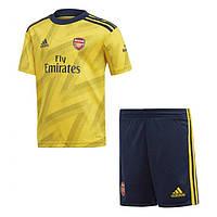 Футбольная форма Арсенал (Arsenal), выезд/желтый сезон 19/20