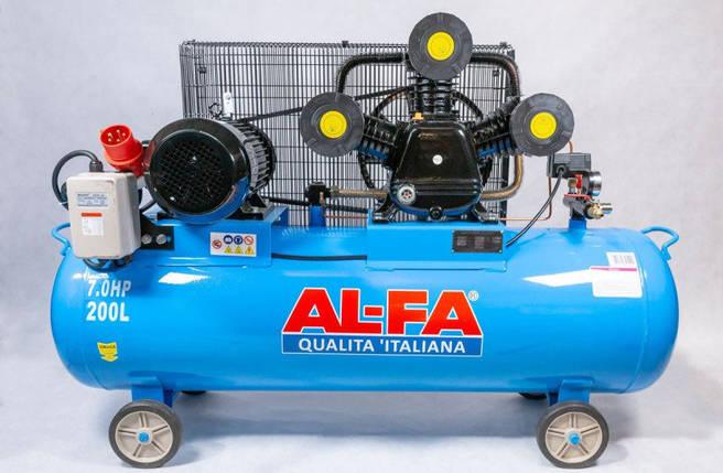 Компрессор AL-FA ALC300-3/400V (300 літрів), фото 2