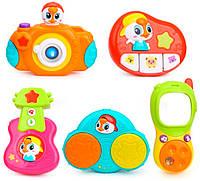 Комплект подвесных музыкальных игрушек (5 шт.), Huile Toys