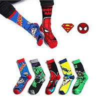 Высокие мужские носки Marvel Халк, фото 4