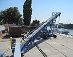Конвейер ленточный передвижной для сыпучих материалов
