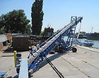 Транспортер конвейер ленточный передвижной для сыпучих (зерно, ячмень, кукуруза,  соя и т.д.)