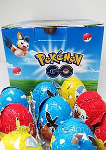Яйцо шоколадное« Покемон» с игрушкой 24 шт Турция