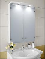 Шкаф зеркальный Garnitur.plus в ванную с LED подсветкой 6S DP-V-200105, КОД: 141293