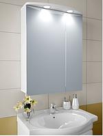 Шкаф зеркальный Garnitur.plus в ванную с LED подсветкой 19S DP-V-200118, КОД: 141266