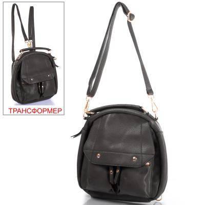 Сумка-рюкзак женская из качественного  кожезаменителя ETERNO (ЭТЕРНО) ETK640-2, фото 2