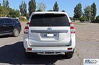Opel Combo D (11+) защитная дуга защита заднего бампера на для Опель Комбо Д Opel Combo D (11+) d60х1,6мм