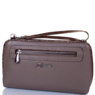 Женская кожаная сумка-клатч DESISAN (ДЕСИСАН) SHI2012-283