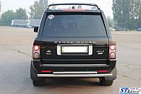 Renault Duster (09+) защитная дуга защита заднего бампера на для Рено Дастер Renault Duster (09+) d60х1,6мм