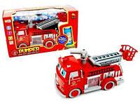 """Пожарная машина с мыльными пузырями """"Pumper"""" B838B"""