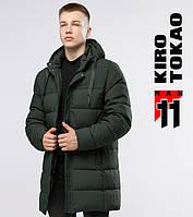 Куртка мужская зимняя 6002 зеленая Киро Токао