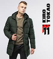 Куртка мужская зимняя 6006 зеленая Kiro Tоkao