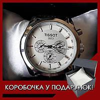 Стильные мужские механические часы TISSOT 1853 prc 200 (тиссот)