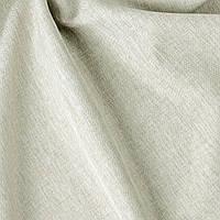 Декоративная однотонная ткань рогожка меланж молочный