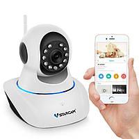 Wifi камера видеонаблюдения поворотная Vstarcam C25 wip, 1 Мп, 720P, PTZ, App (УЦЕНКА - не работает микрофон)