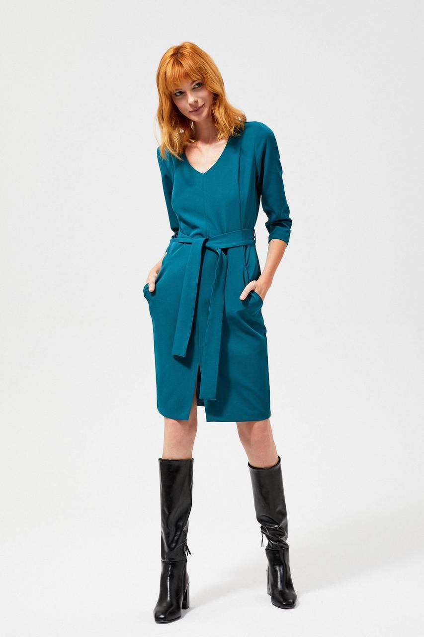 Платье женское MOODO Z-SU-3020 D GREEN