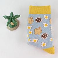 Высокие мужские носки с принтом Яиц, фото 3