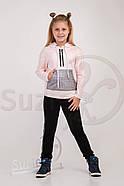 Костюм спортивный для девочки Тирия  (140-158) (Suzie)Сьюзи Украина пудра КС-20803.1, фото 2